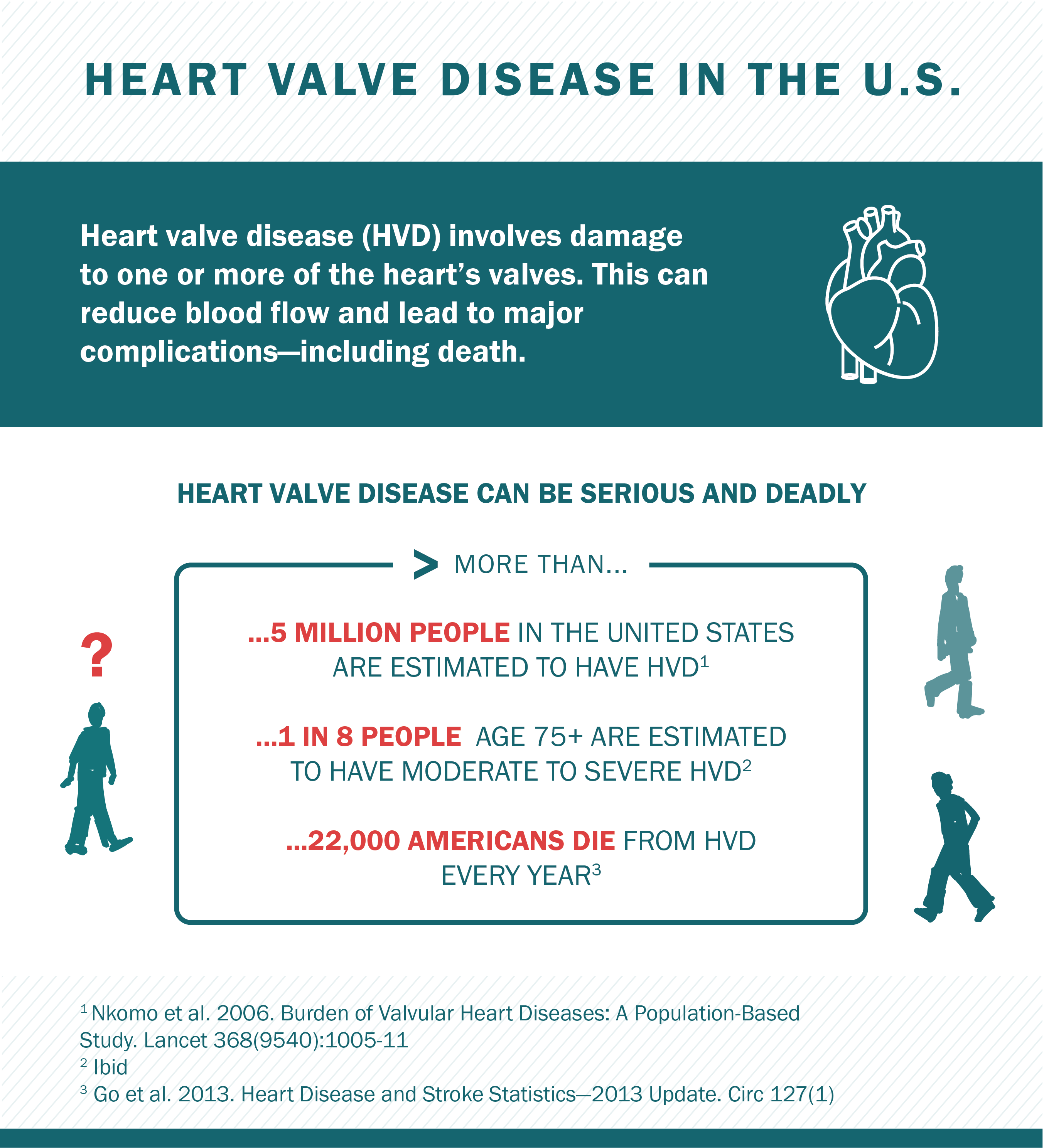 Heart Valve Disease infographic