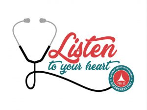 Podium Sign – Listen to Your Heart