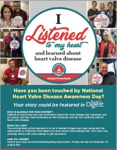 Patient Stories Contest Flyer