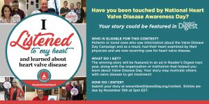 Patient Stories Contest Flyer for Twitter