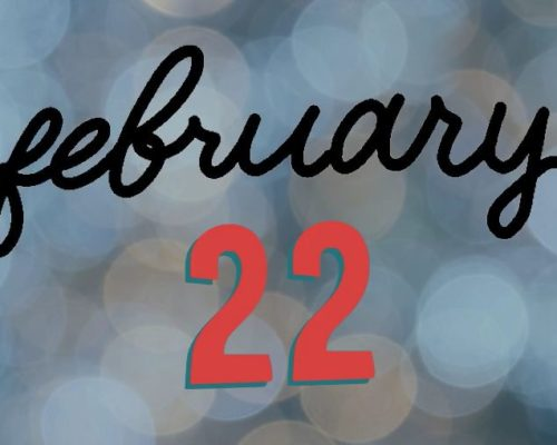 February 22nd Twitter Reminder
