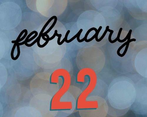 February 22nd Facebook Reminder